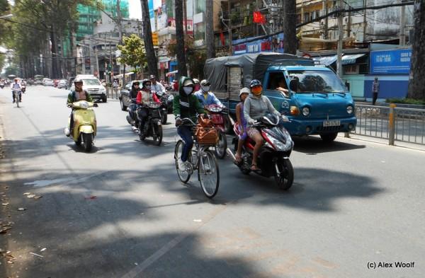 На улицах Хо-Ши-Мина
