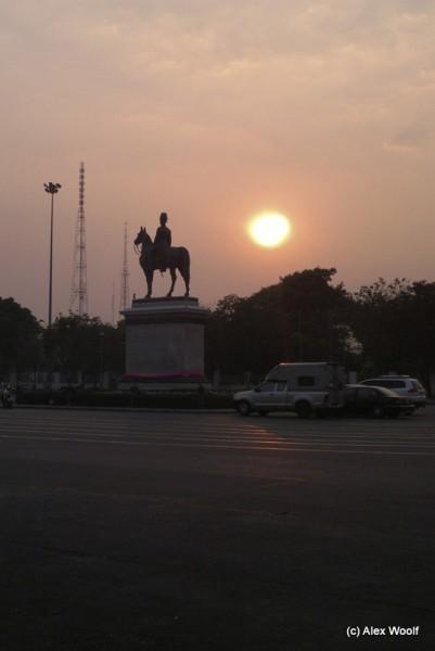 Конная статуя Рамы V.