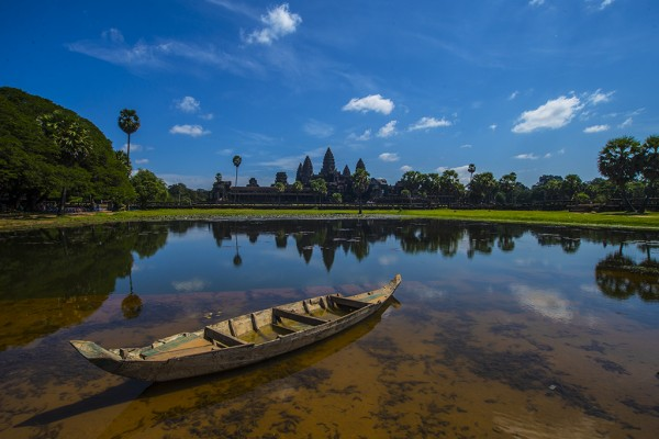 Ангкор Ват. Камбоджа.