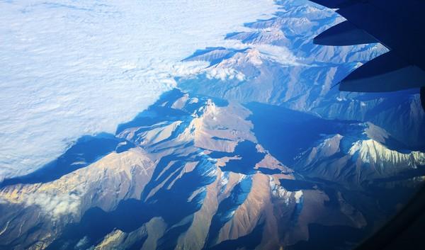Под крылом самолета – Кавказ