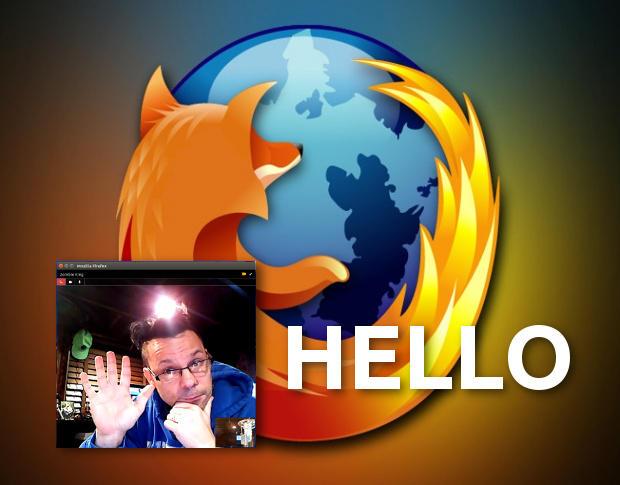 "Firefox Hello: Просто скажи ""Привет""!"