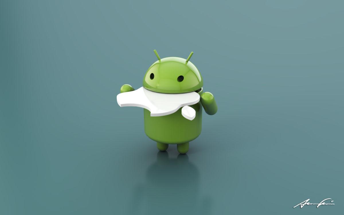 Apple прогнулся под Android