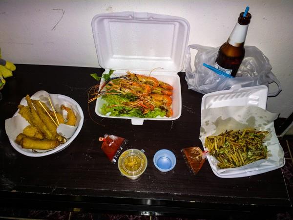 Ужин в Таиланде