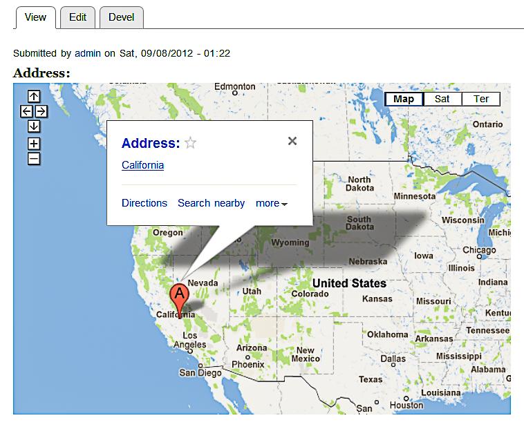 Краткий обзор Drupal плагинов для работы с картами Google Maps