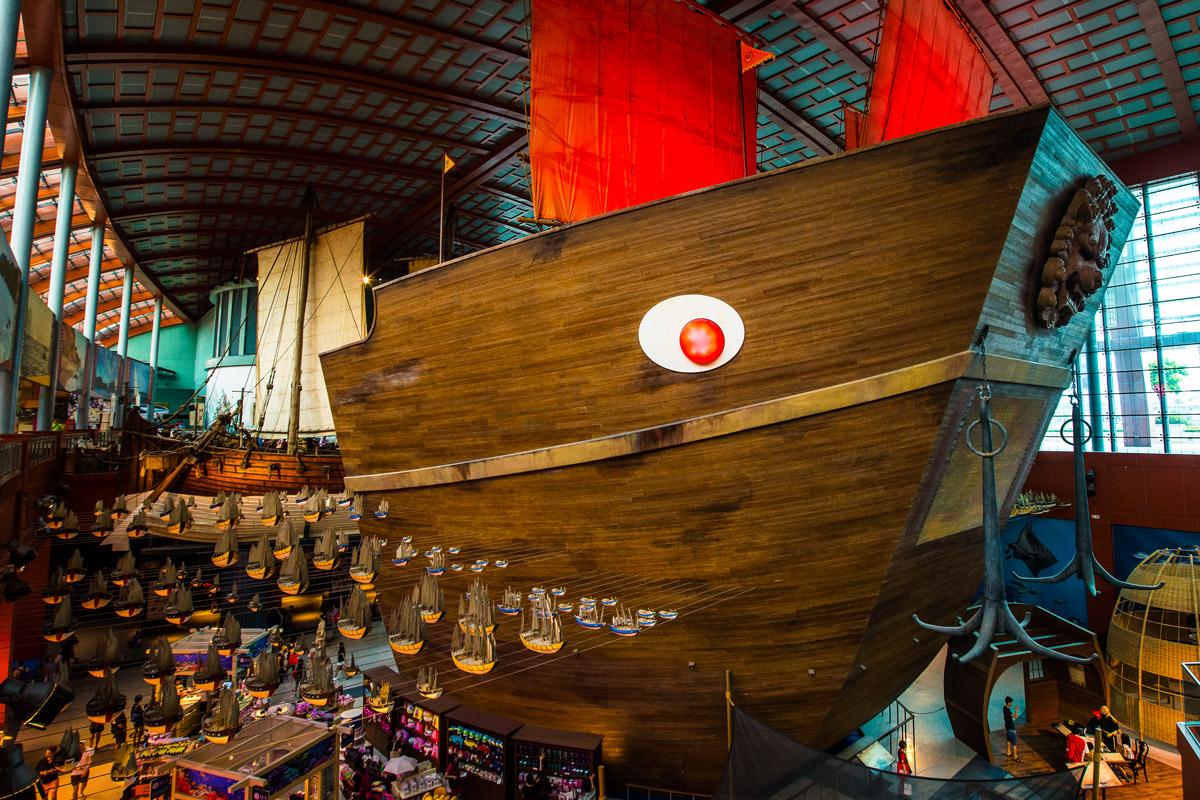 Как попасть в океанариум в Бангкоке и в Сингапуре
