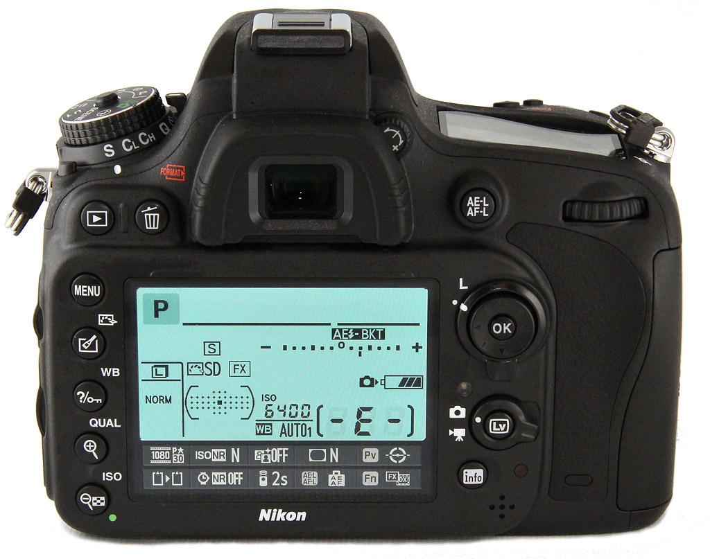 Кое-что о настройках камер Nikon