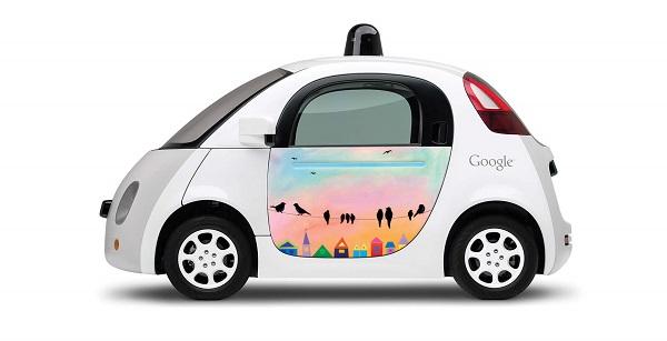 Новый дизайн гугломобиля