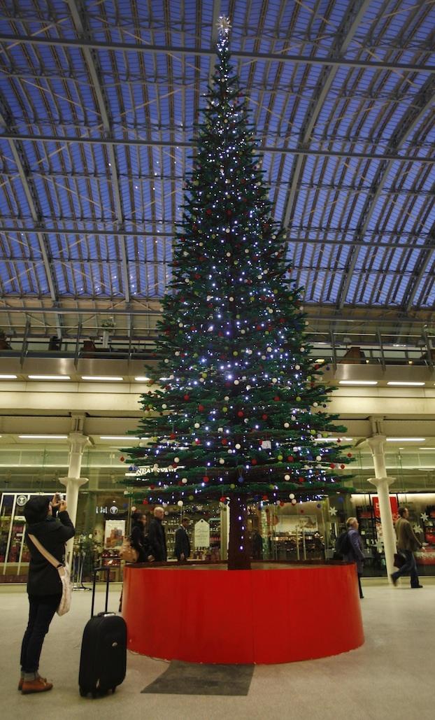 The LEGO Christmas Tree