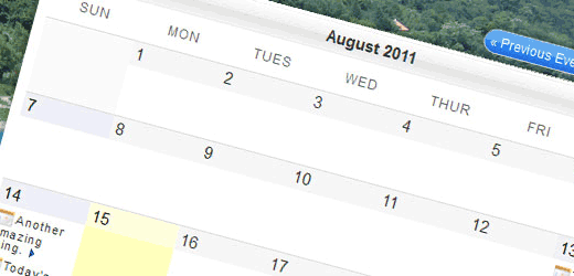Плагины календарей для WordPress