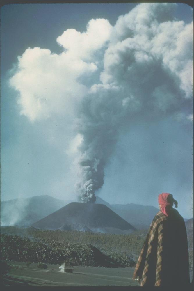 Вулкан в поле