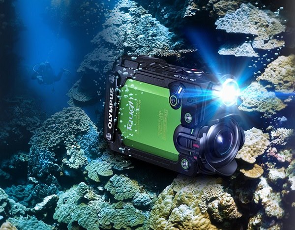 Ну вот и Olympus представила экшн-камеру…