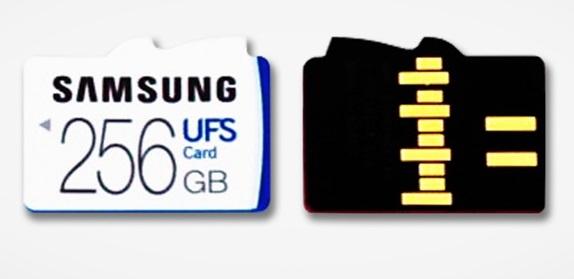 Samsung создала гибридный слот для карт UFS и microSD