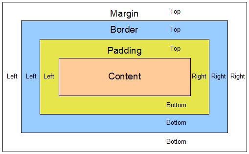 Сайты на WordPress:  Margin, Padding и Border