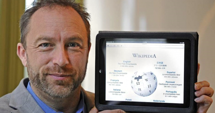 Создатель Wikipedia объявил войну медиа-войнам